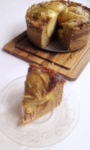 Veganer Bratapfelkuchen