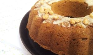 Erdnuss-Kürbis-Kuchen