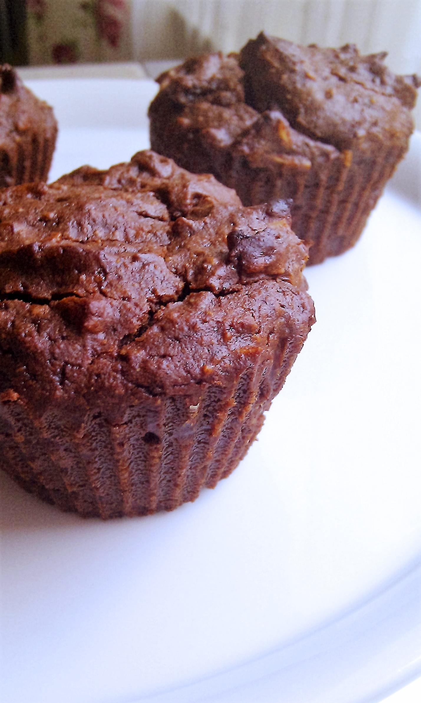 Muffins a la Torta Caprese