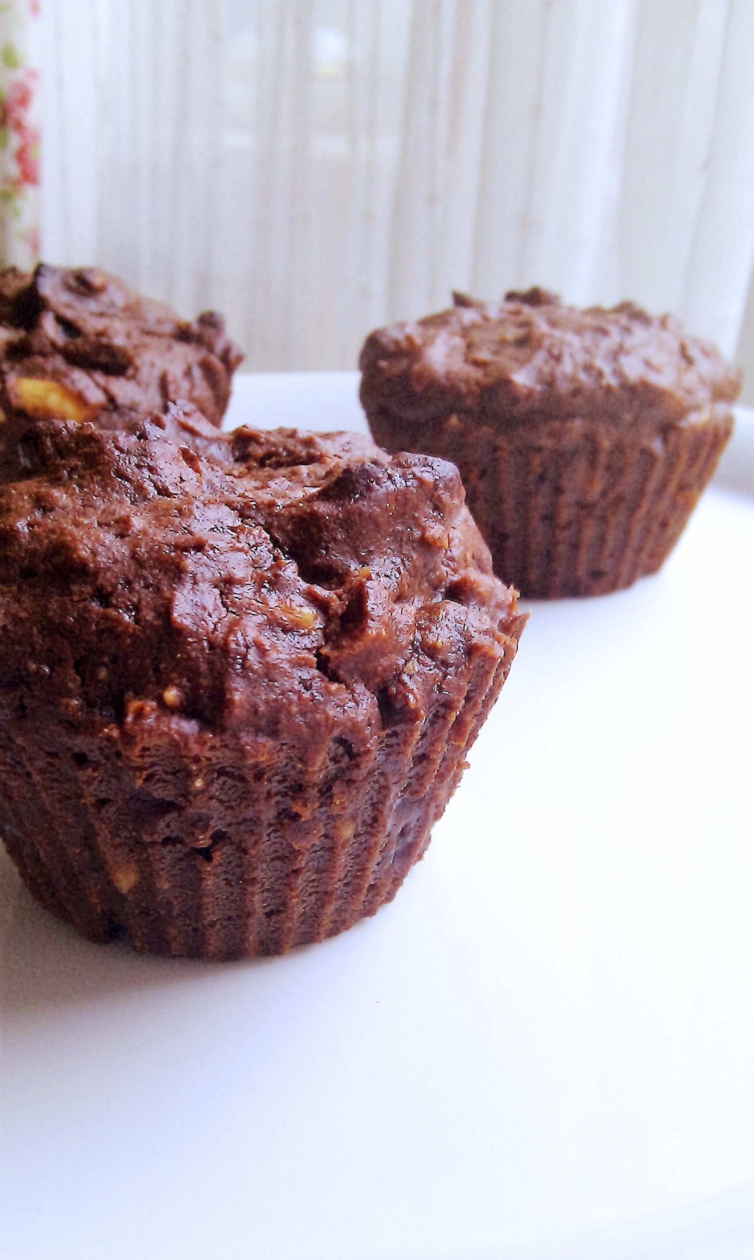 Muffins a la Torta Caprese2