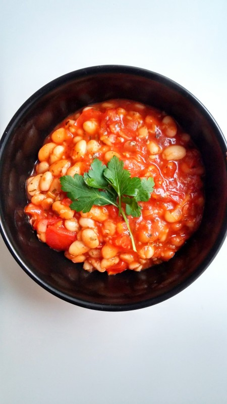 Bohnen-Tomaten-Pfanne1