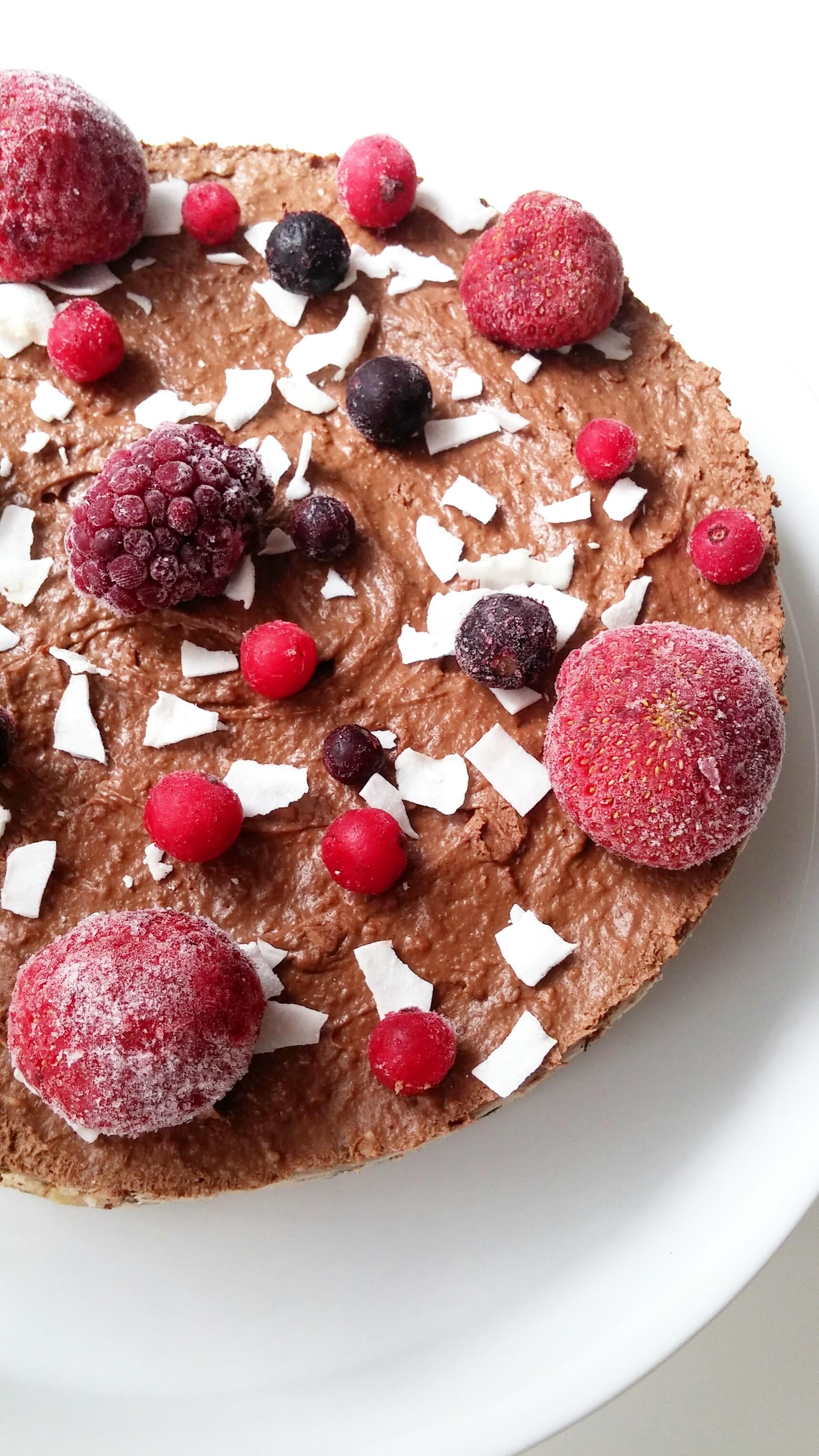 raw vegan double layer cake2