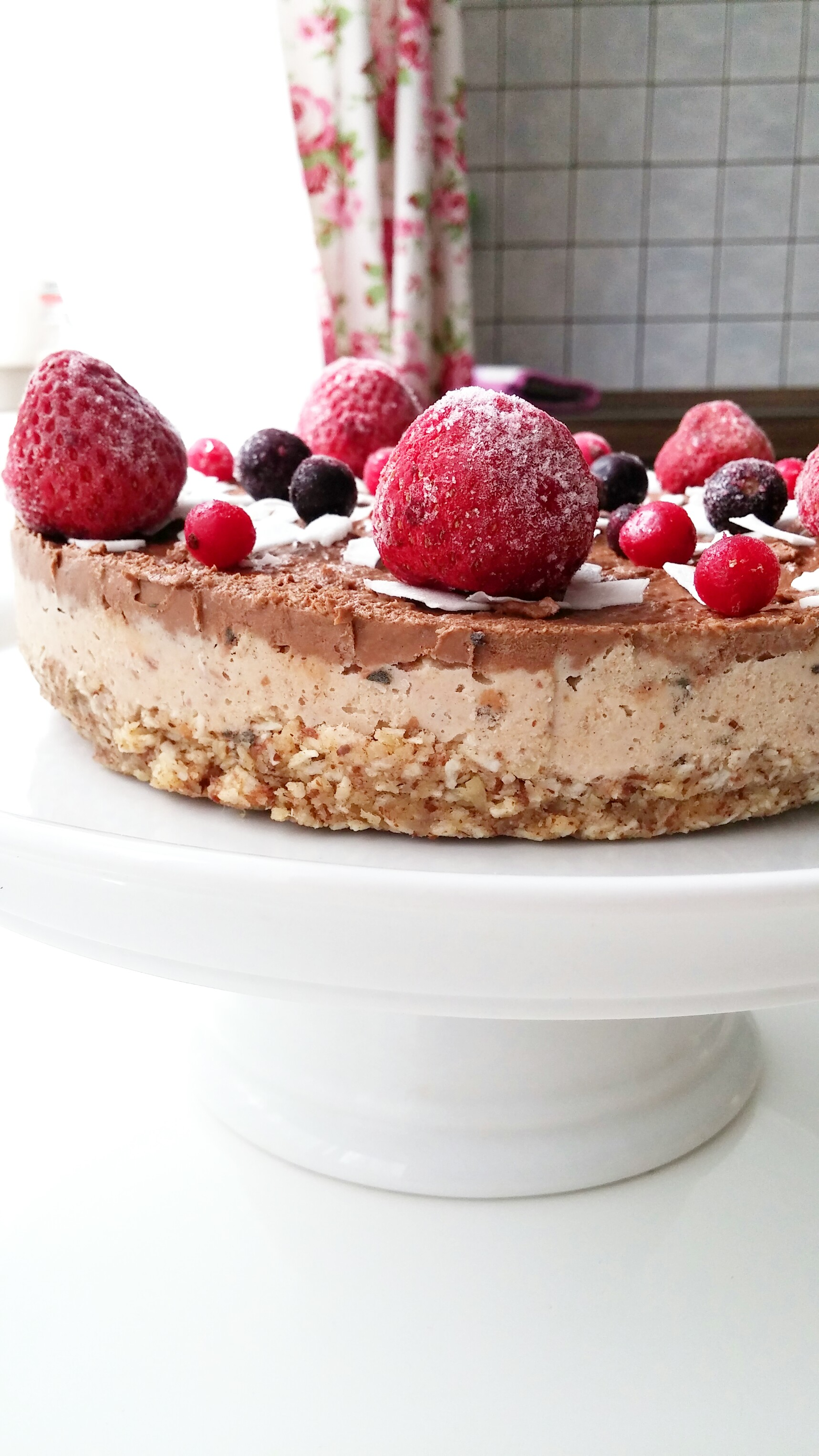 raw vegan double layer cake3